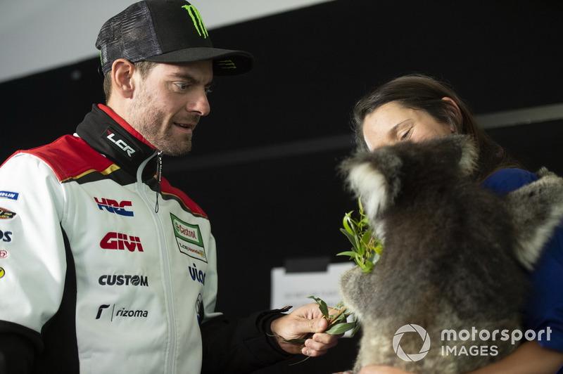 Кел Кратчлоу, Team LCR Honda, та коала
