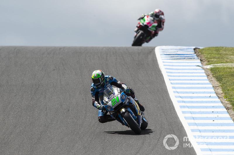 GP de Australia 2018: Franco Morbidelli (8º)