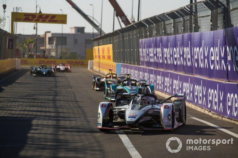 Maximilian Gunther, Dragon Racing, Penske EV-3, Nelson Piquet Jr., Jaguar Racing, Jaguar I-Type 3