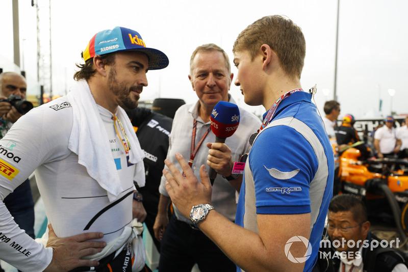 Мартін Брандл, Sky Sports F1, Фернандо Алонсо, McLaren, Біллі Монгер