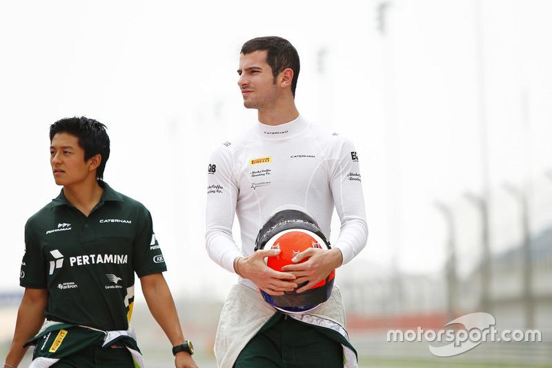 Alexander Rossi and Rio Haryanto, EQ8 Caterham Racing