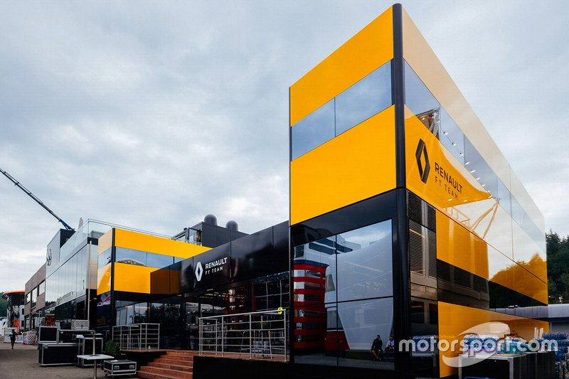 Renault F1 Team hospitality building