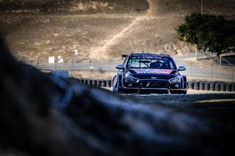 #98 Bryan Herta Autosport Hyundai I30-TCR: Bryan Herta, Colton Herta, George Kurtz