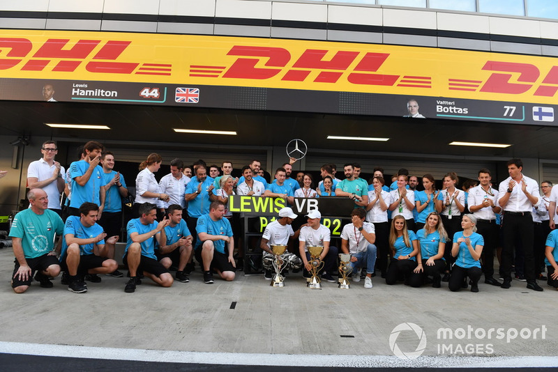 Валттері Боттас, Льюіс Хемілтон, Mercedes AMG F1, з командою