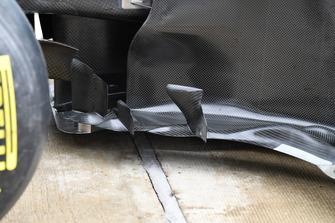 Mercedes-AMG F1 W09 aero detail