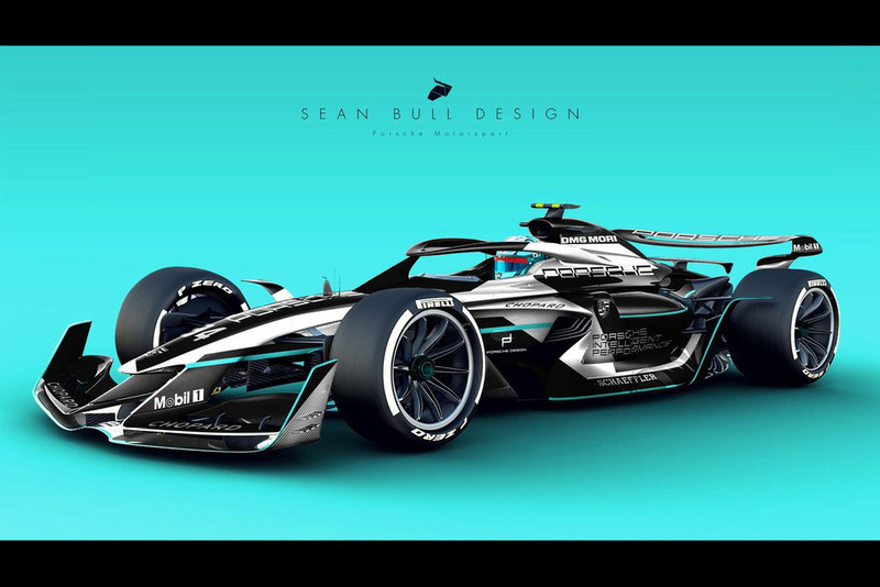 Раскраска Porsche для концепта №3