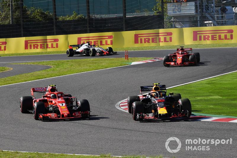 Japon - Max Verstappen/Kimi Räikkönen (course)