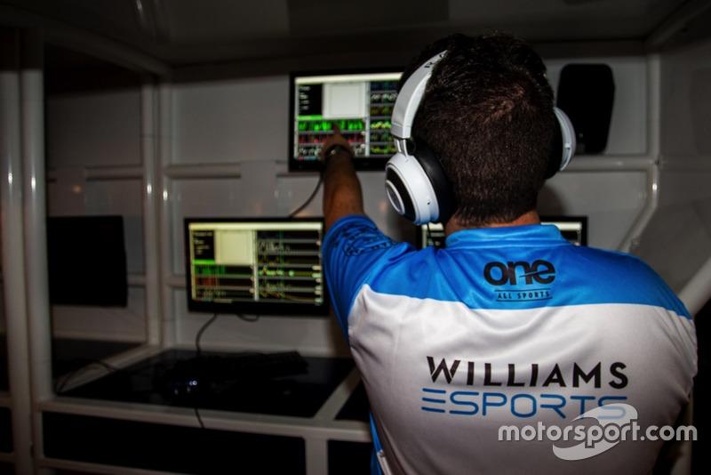 Javier Guerra, team manager Williams eSports