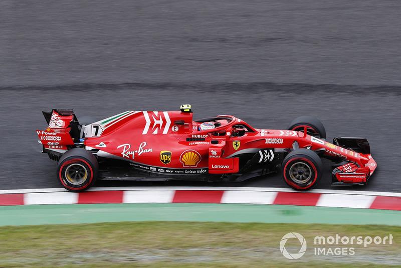 4 місце — Кімі Райкконен, Ferrari. Умовний бал — 22,78