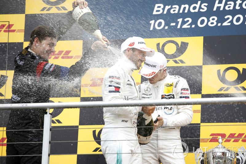 Paul Di Resta, Mercedes-AMG Team HWA és Gary Paffett, Mercedes-AMG Team HWA