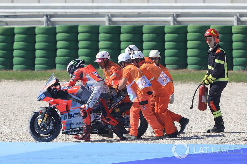 Terjatuhnya Jorge Lorenzo, Ducati Team