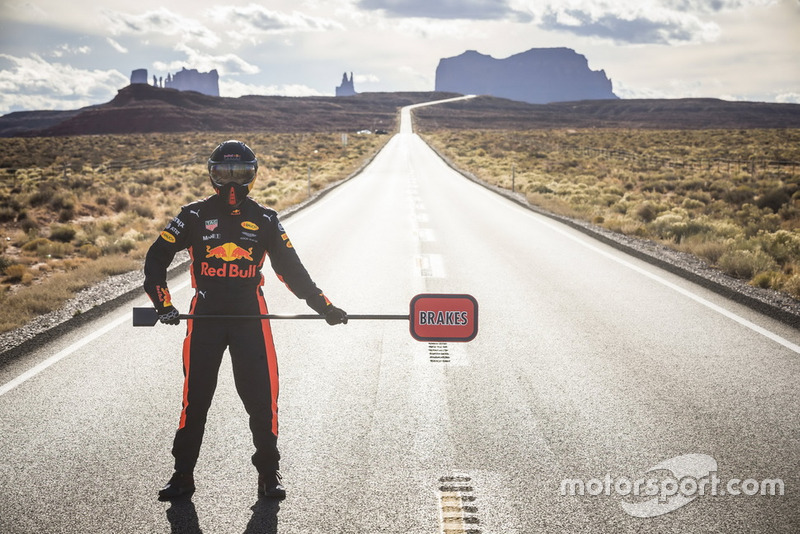 Daniel Ricciardo, Red Bull Racing en Monument Valley