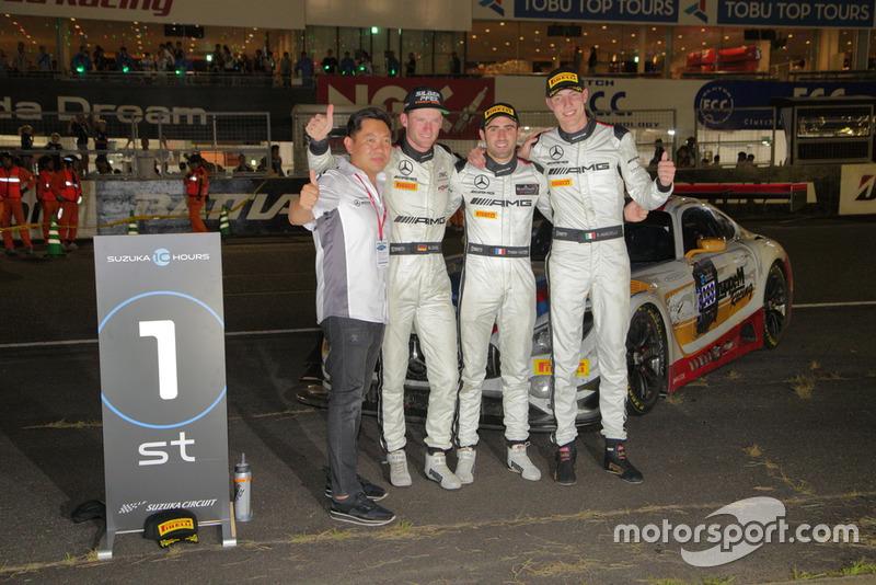 «10 часов Сузуки»: Маро Энгель, Рафаэле Марчелло, Тристан Вотье, Mercedes-AMG Team GruppeM Racing
