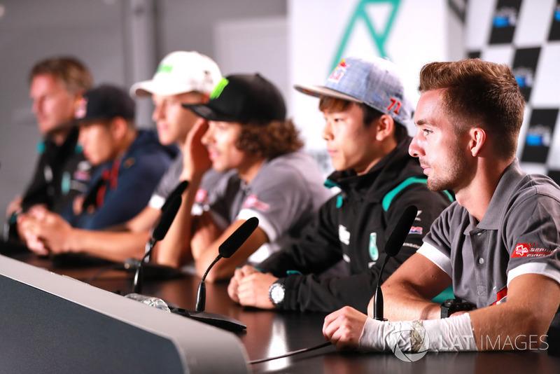Petronas Yamaha Sepang Racing press conference