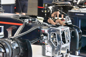 Red Bull RB14, dettaglio