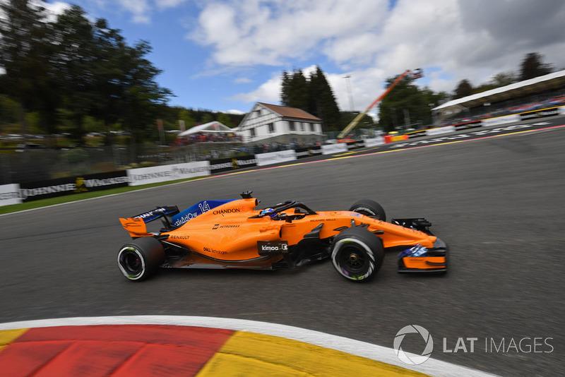 14. Fernando Alonso, McLaren MCL33