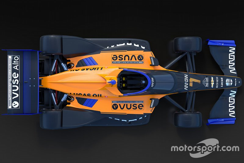 Arrow McLaren livery unveil