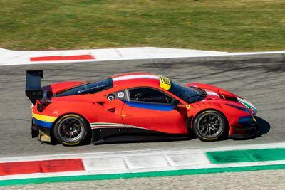 Ferrari 488 Modificata a Monza