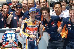 Le poleman Dani Pedrosa, Repsol Honda Team