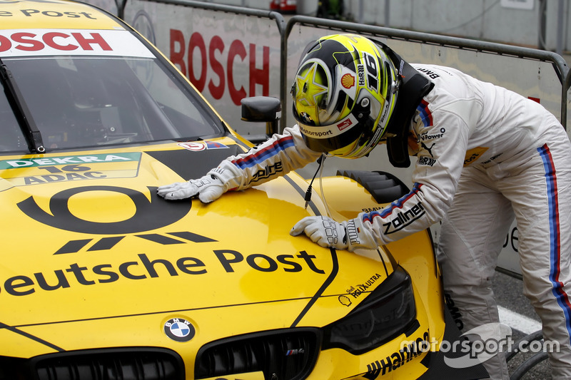 Pole position for Timo Glock, BMW Team RMG, BMW M4 DTM