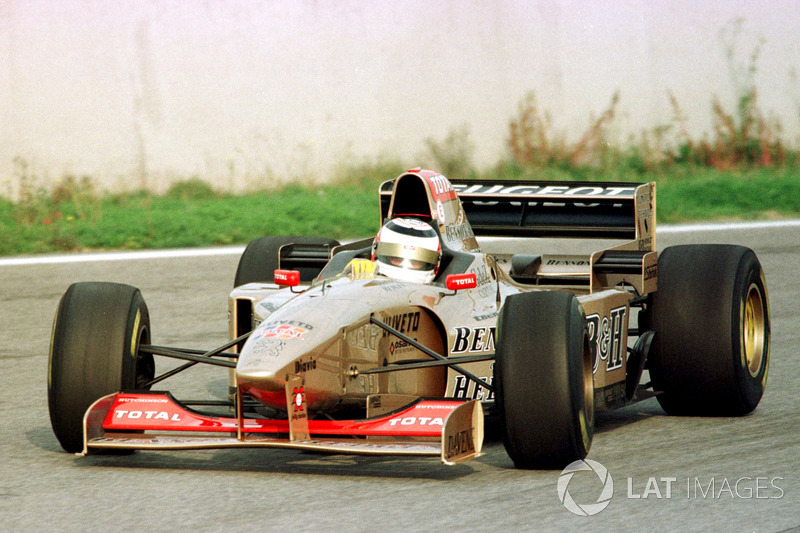 1996: Letzter Formel-1-Test mit Jordan