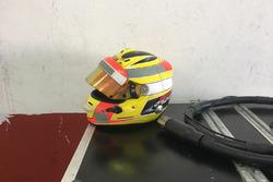 Rio Haryanto helmet