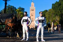 Хосе Мария Лопес, DS Virgin Racing, и Сэм Бёрд, DS Virgin Racing