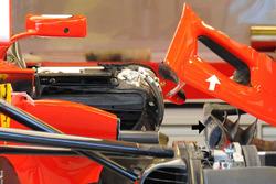 Ferrari SF70H: Seitenkasten-Öffnung