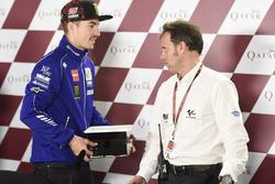 Loris Capirossi; Maverick Viñales, Yamaha Factory Racing