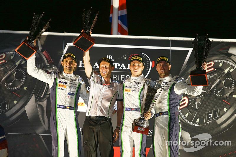 Ganadores Andy Soucek, Maxime Soulet, Vincent Abril, Bentley Team M-Sport