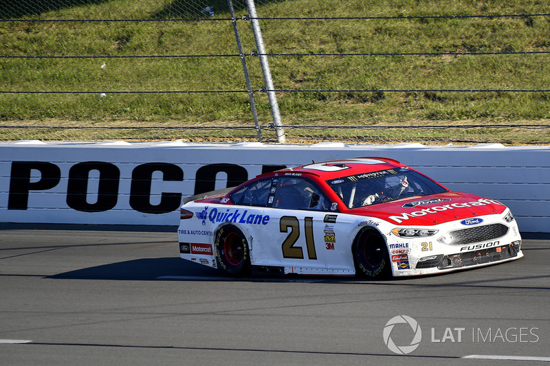 Pocono (Pennsylvania): Ryan Blaney (Wood-Ford)