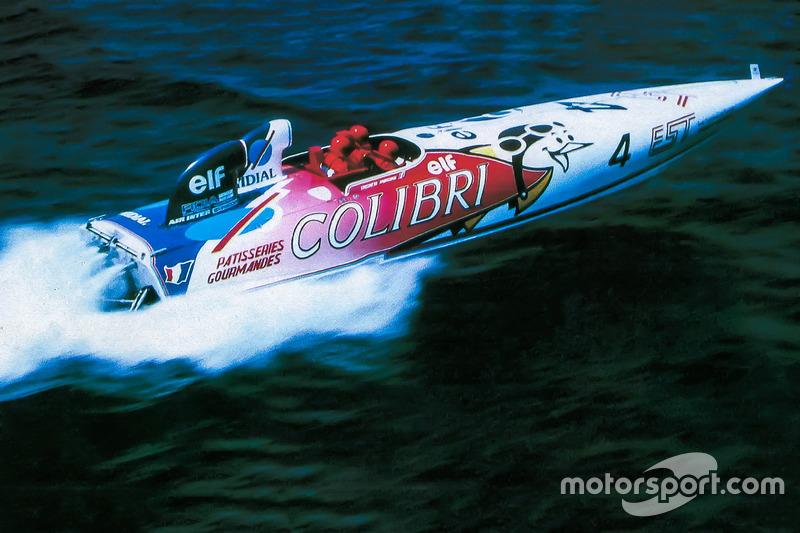 Формула 1 Катер с двумя моторами: история последней гонки Дидье Пирони