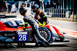 #28 IDEC Sport Racing, Ligier JSP217 - Gibson: Patrice Lafargue, Paul Lafargue, Paul-Loup Chatin