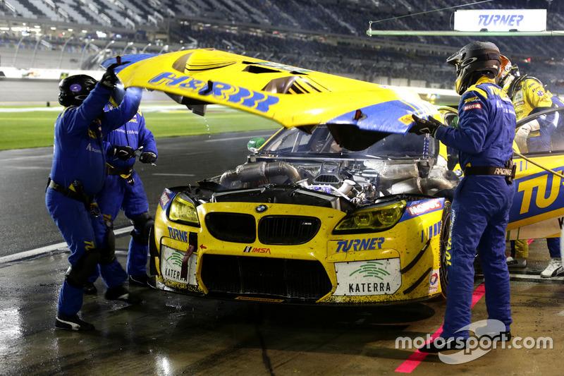 Pitstop, #96 Turner Motorsport BMW M6 GT3: Jens Klingmann, Justin Marks, Maxime Martin, Jesse Krohn