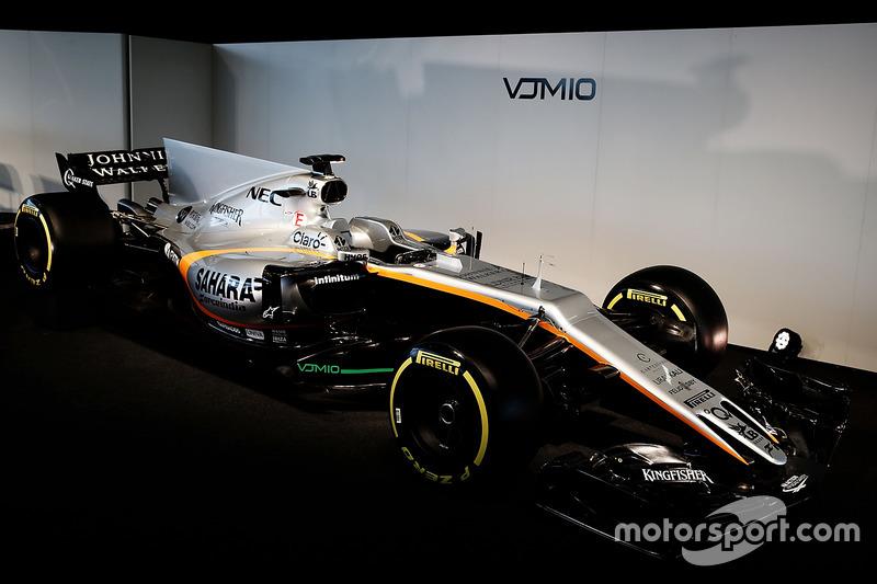Формула 1 Важливі новини Force India презентувала новий болід Ф1 для 2017 року