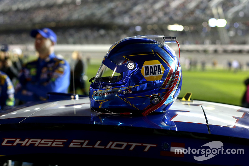 Helm von Chase Elliott, Hendrick Motorsports, Chevrolet