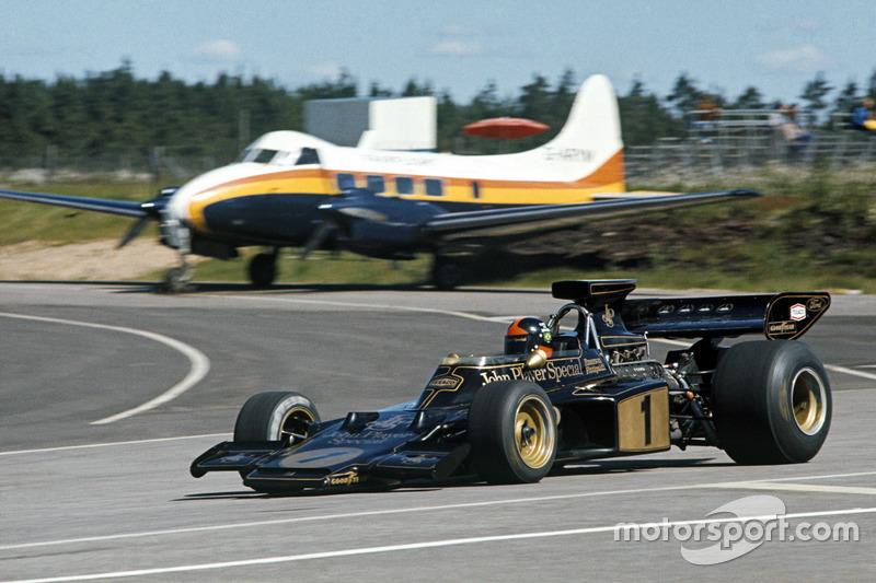 1973 - Emerson Fittipaldi, Lotus 72E Ford