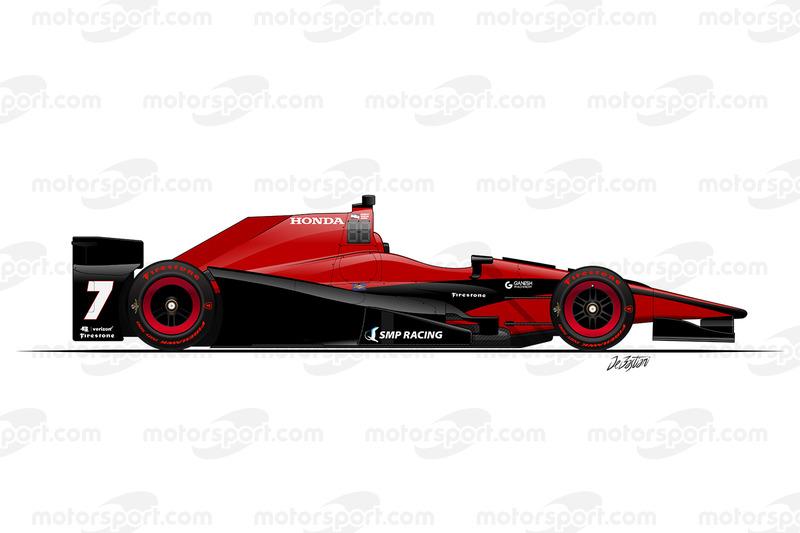 #7 - Mikhail Aleshin, Schmidt/Peterson Motorsports Honda