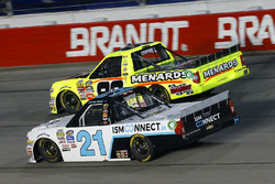 Johnny Sauter, GMS Racing Chevrolet, Matt Crafton, ThorSport Racing Toyota