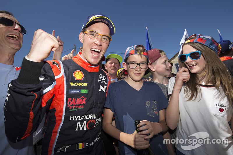 Переможець Тьєррі Ньовілль, Hyundai Motorsport