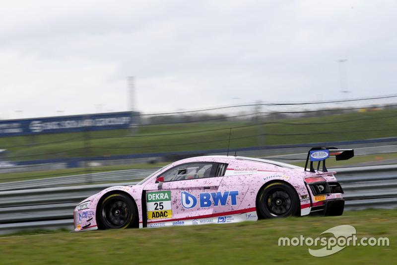 #25 BWT Mücke Motorsport, Audi R8 LMS: Mike-David Ortmann, Frank Stippler