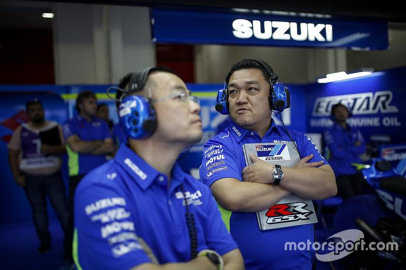 Ken Kawauchi, Team Suzuki MotoGP, Technikchef