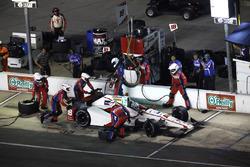 Tristan Vautier, Dale Coyne Racing Honda pit stop