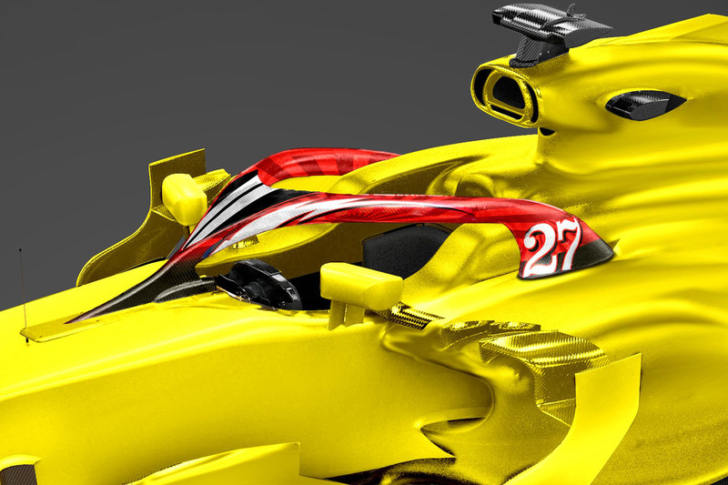 Halo для Нико Хюлькенберга, Renault Sport F1 Team