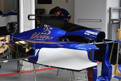 Sauber C36 bodywork