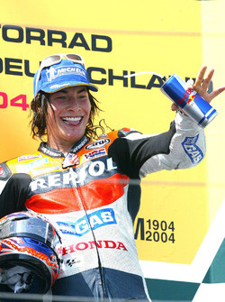 Podium: third place Nicky Hayden, Repsol Honda Team