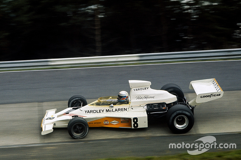 Peter Revson, McLaren M23 Ford