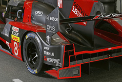 #8 Audi Sport Team Joest Audi R18 rear detail