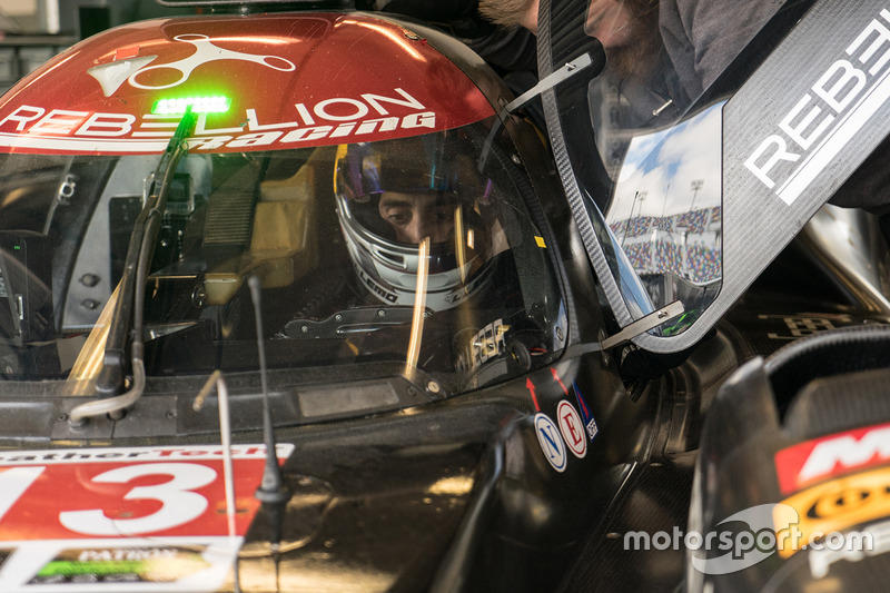 #13 Rebellion Racing ORECA 07: Neel Jani, Sébastien Buemi, Stéphane Sarrazin, Nick Heidfeld