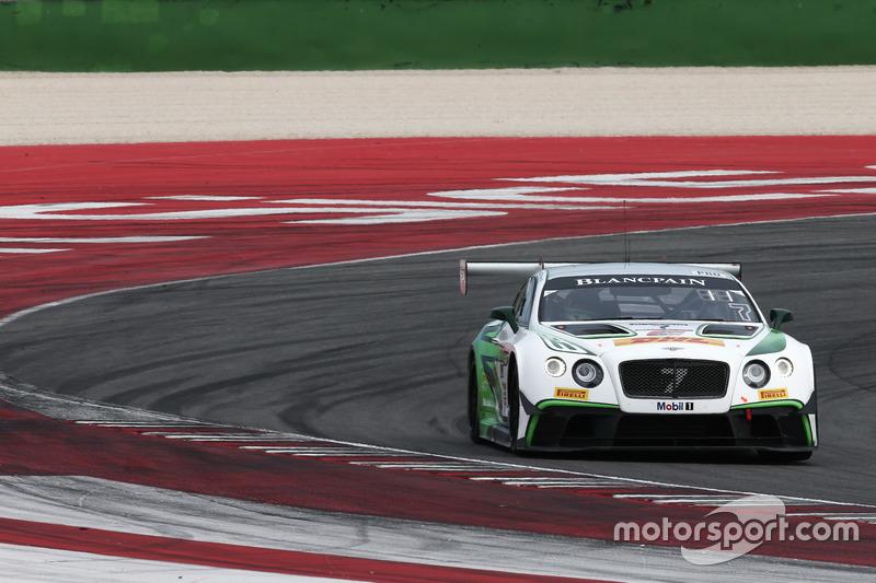 #7 Bentley Team M-Sport, Bentley Continental GT3: Steven Kane, Vincent Abril